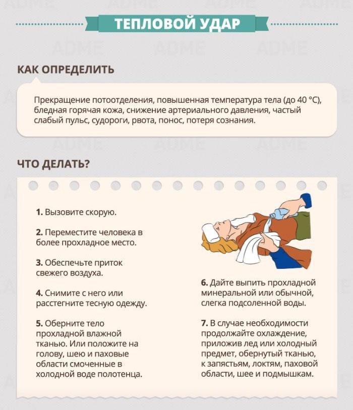 Правила оказания первой медицинской помощи в картинках