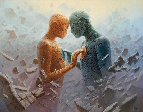 Фантастические миры художника Томаса Алена Коперы