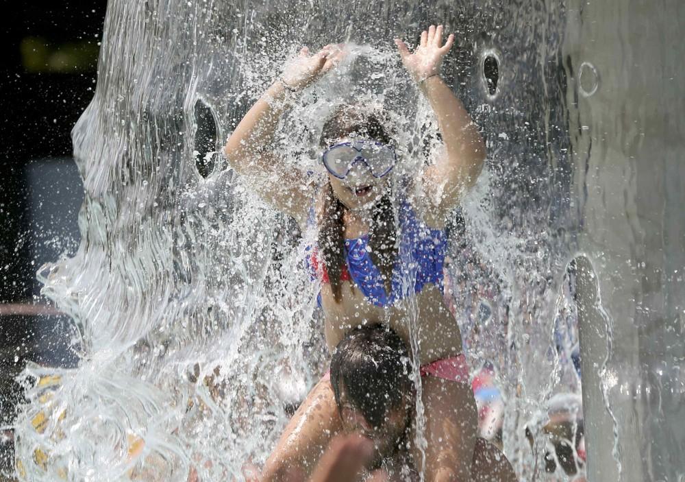 Настоящая летняя жара