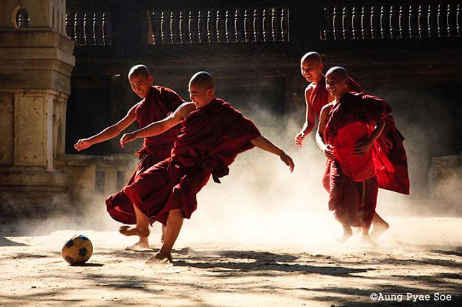 Красота Мьянмы от фотографа A.P. Soe
