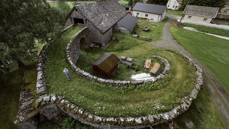 Сельская архитектура в Норвегии