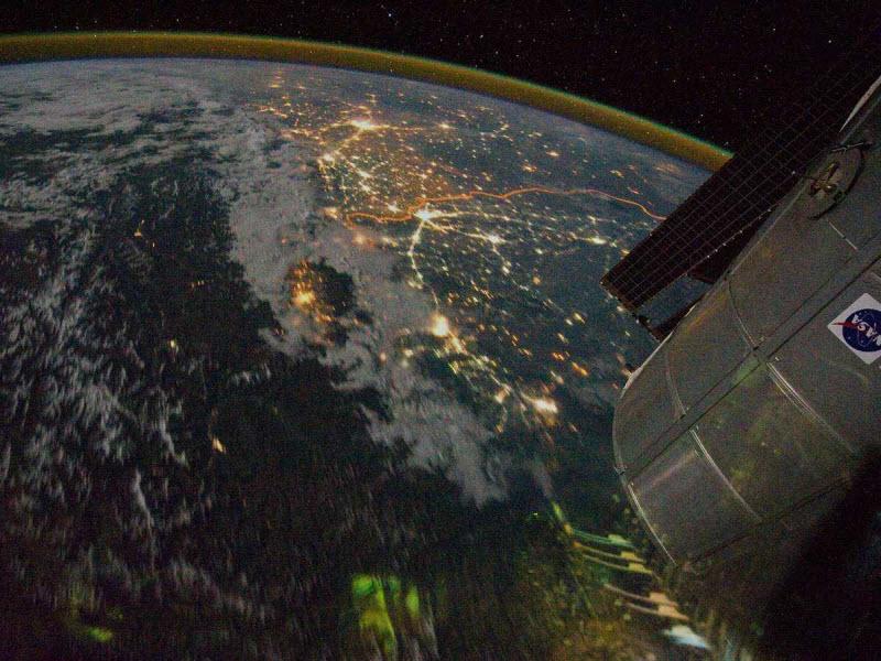 Фотографии границ между странами со всего мира