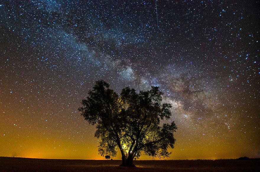 Ночное небо от фотографа Жоао П. Сантоса