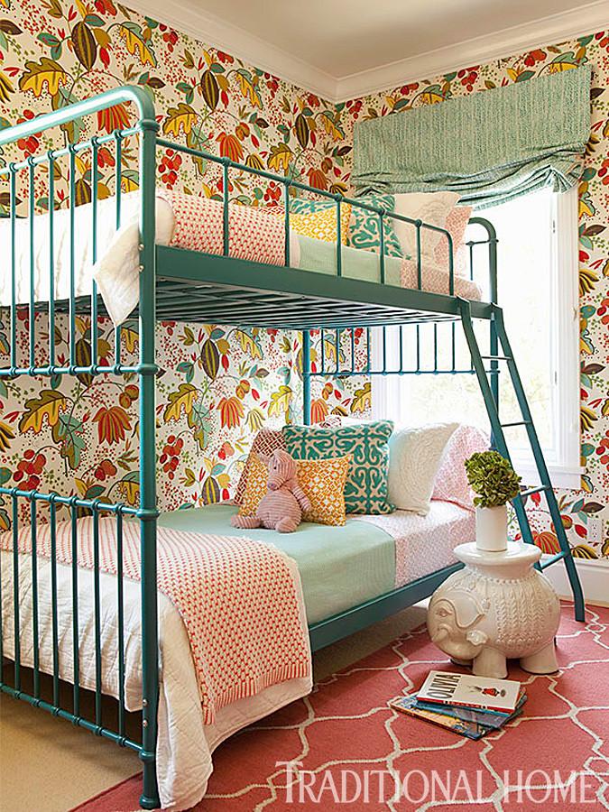 Дизайнерские двухъярусные кровати