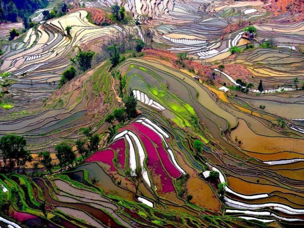 20 мест, где природа не пожалела ярких красок
