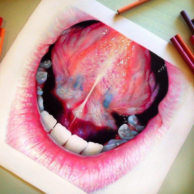 картинки рисунки цветными карандашами