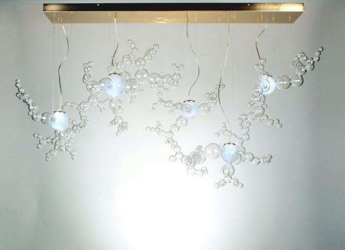 Скульптуры из стекла от Симоне Крестани