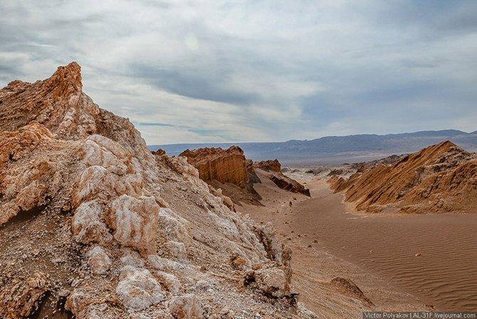Атакама — самая сухая пустыня планеты