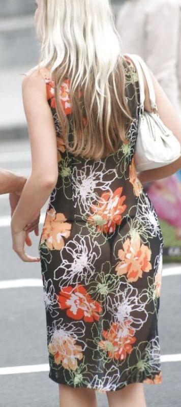 Красивые девушки в летних платьях