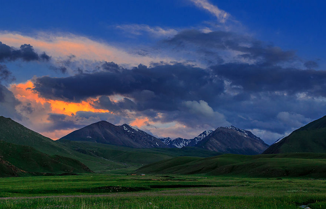 Шестинедельное конное путешествие по горам Киргизии