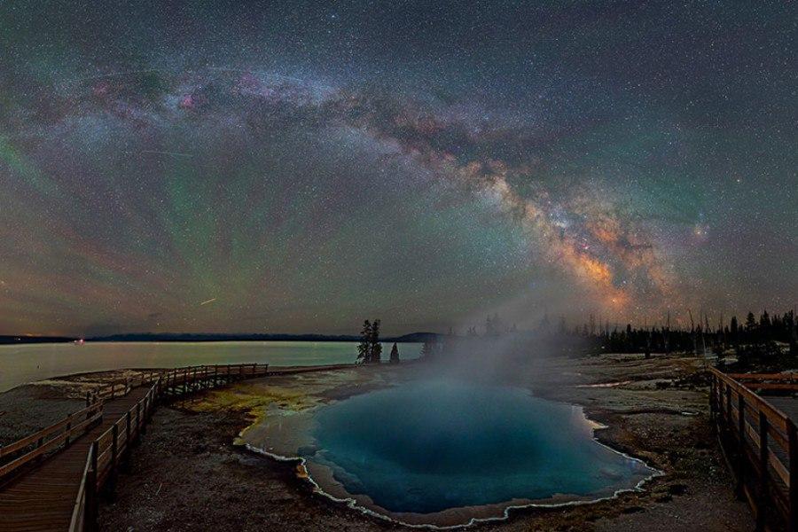 Млечный Путь на фотографиях Дэвида Лэйна