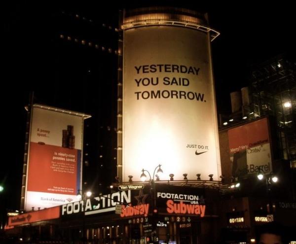 Шедевры креативной наружной рекламы