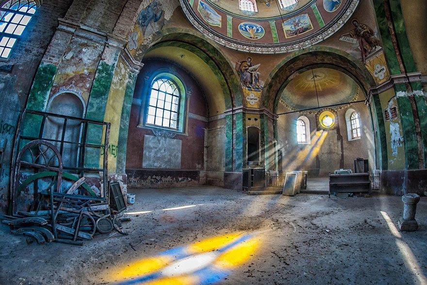 Заброшенные места от польского фотографа Анны Мики