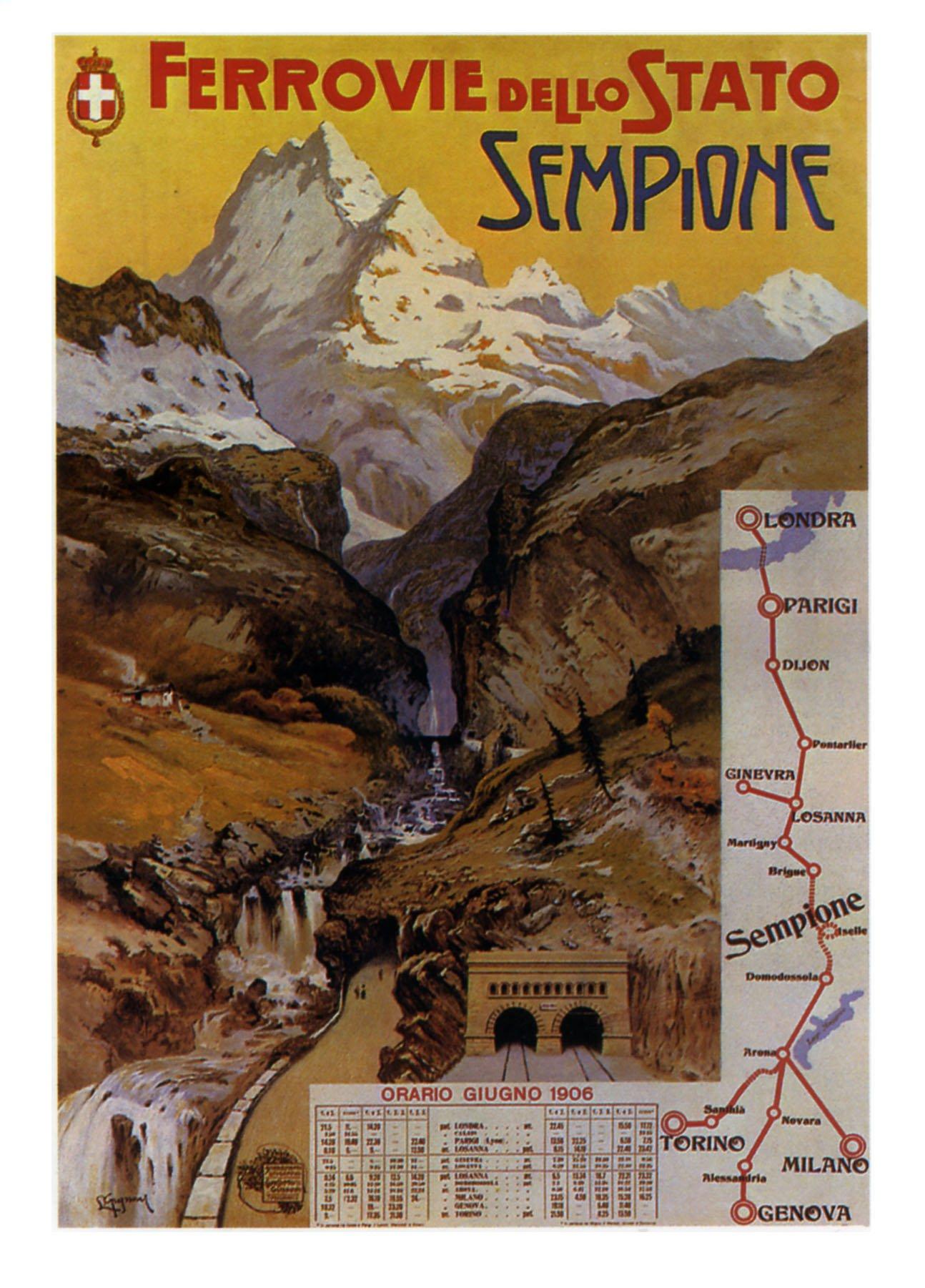 Рекламные постеры из Швейцарии XIX-начала XX века