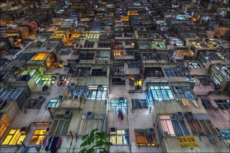 Многоэтажки Гонконга