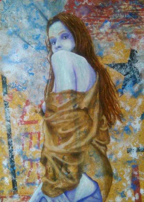 Женская красота и яркие образы от итальянского художника Леонардо Веччиарино