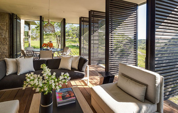 Ejemplos de brillantes y bonitas terrazas acristaladas.