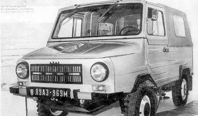 5 most popular Soviet SUVs