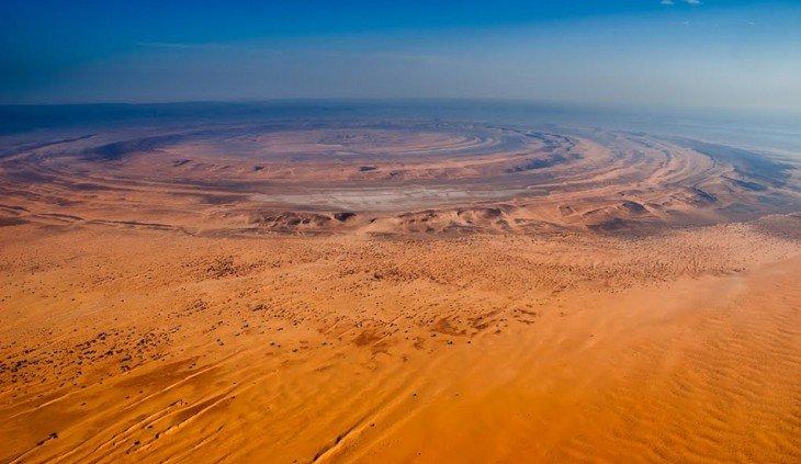 Интересные факты о Глазе Сахары