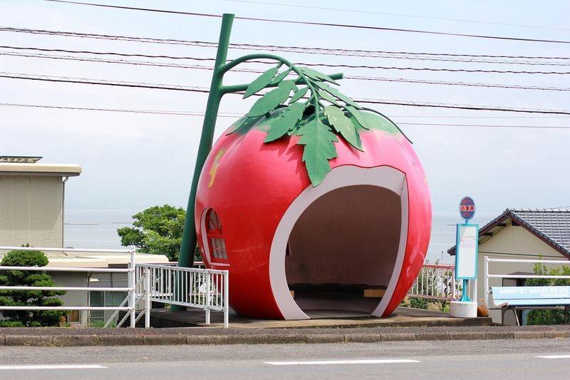 Вкусные автобусные остановки в Японии