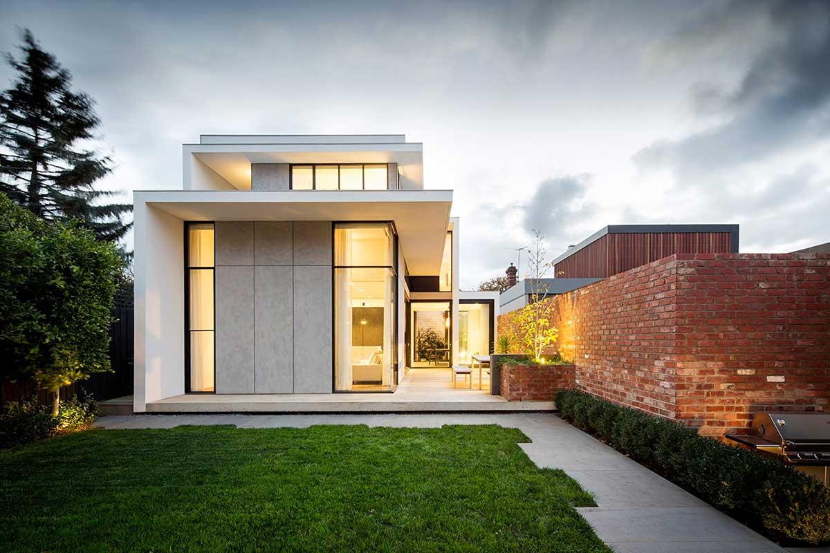 Ре-дизайн частного дома Armandale 1 от студии Mitsuori
