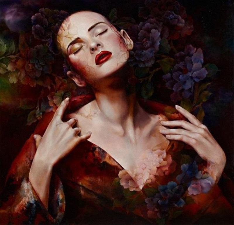 Сказочные портреты от китайской художницы Венди Энджи