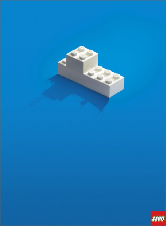 16 примеров качественной минималистичной рекламы