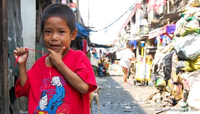 Жизнь на свалке Смоки Маунтин на Филиппинах