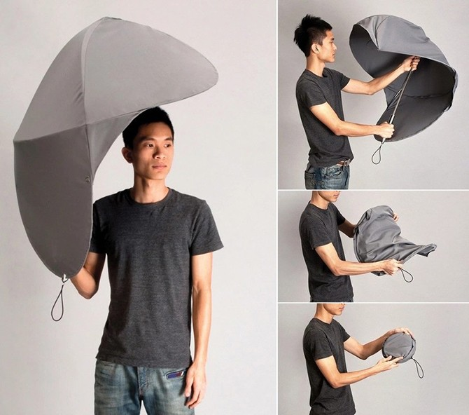 Оригинальные зонты защитят от дождя и непогоды