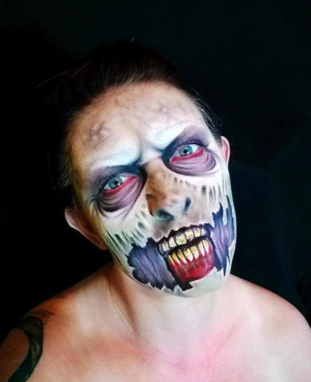 Перевоплощения на Хэллоуин от Никки Шелли