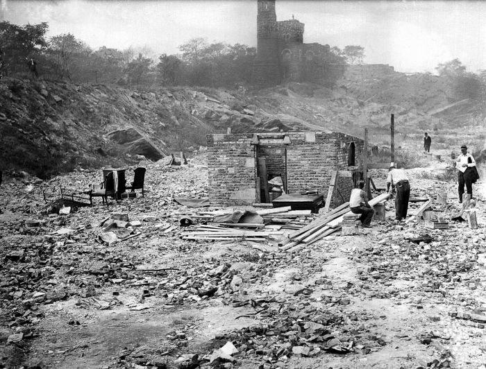 Нью-Йоркские трущобы во времена Великой депрессии