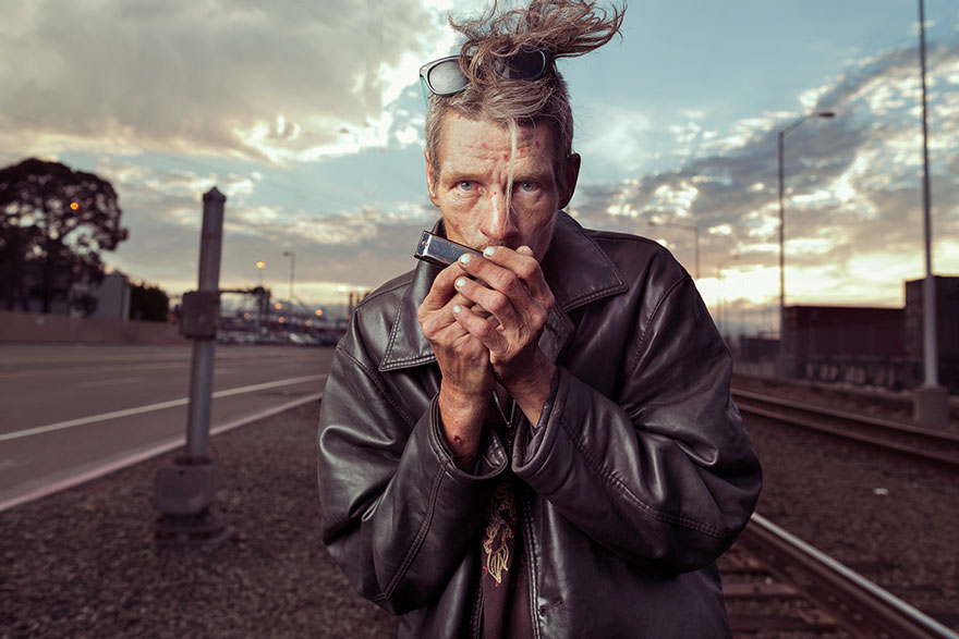 Портреты калифорнийских бездомных в фотосерии Невидимые