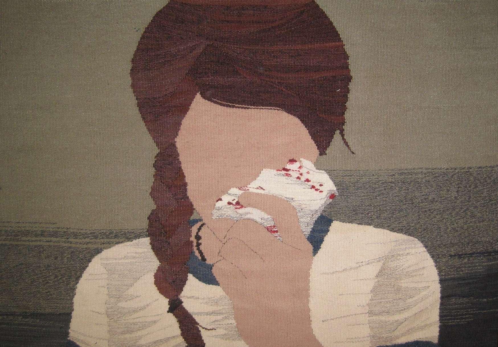 Фривольные тканые картины от Эрин М. Райли