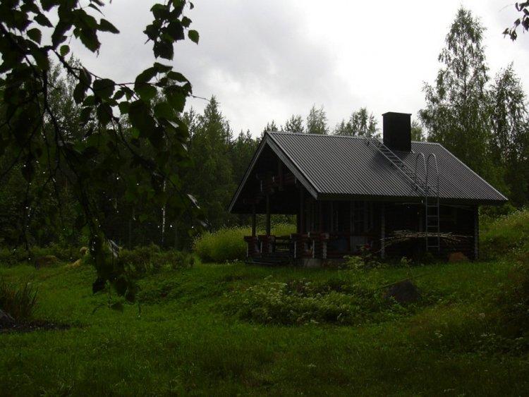 Уединенные домики посреди девственной природы