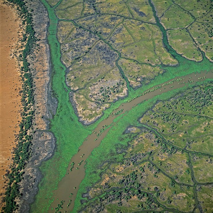 Великолепие водной стихии с высоты