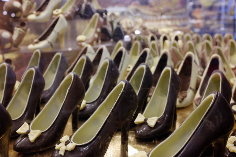Ярмарка шоколада в Париже