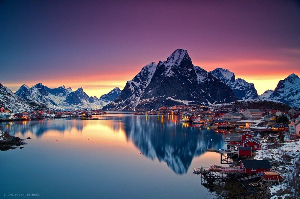 Красоты Норвегии на фотографиях