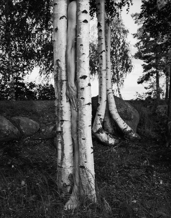 Близость человека и природы на сюрреалистических фотографиях Арно Минккинена