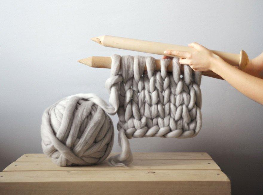 Пряжа для вязания руками