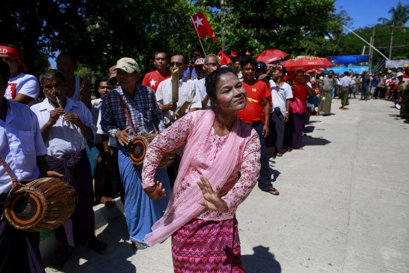 Мьянма секс гей