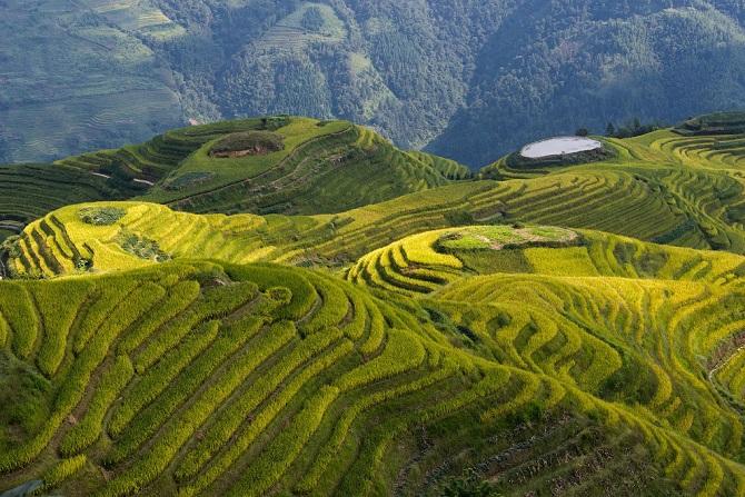 Китай с высоты на свежих аэрофотоснимках