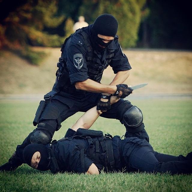 Российская полиция на фото в Instagram