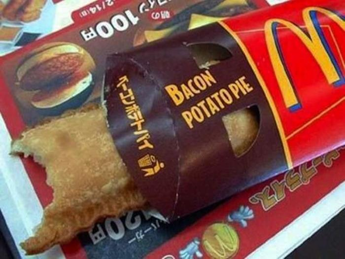 Уникальные блюда из McDonald's разных стран мира