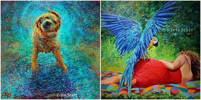 Современные художники и их картины