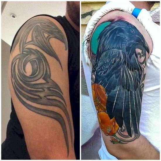 Неудачные татуировки, которые удалось спасти умелым мастерам