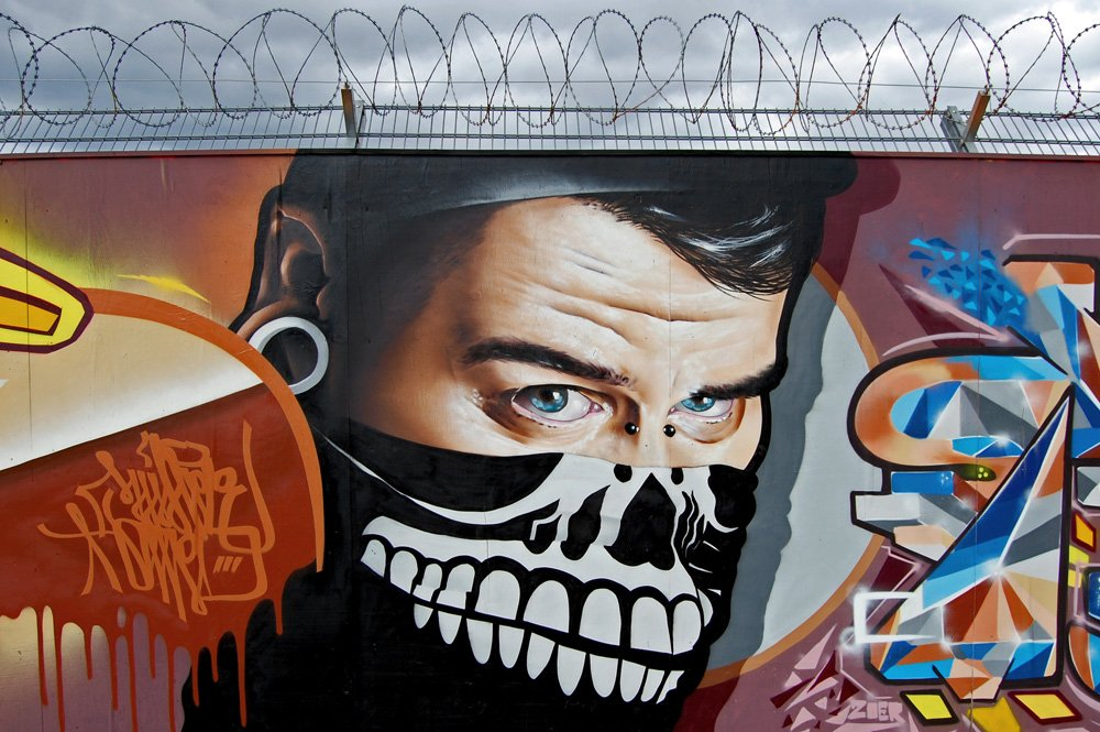 Уличные рисунки от MrDheo