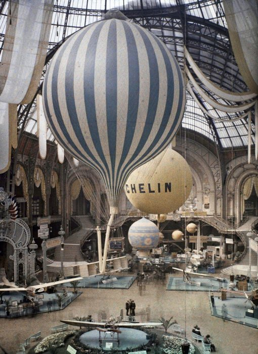 Редкие цветные снимки Парижа 100-летней давности