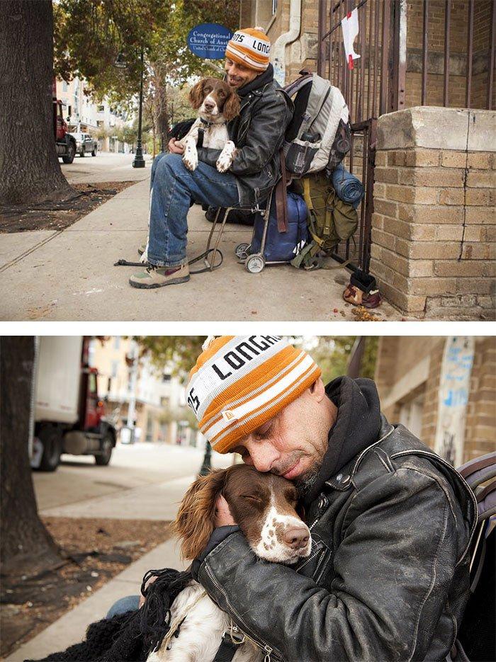 Доказательство того, что собаки любят нас бескорыстно