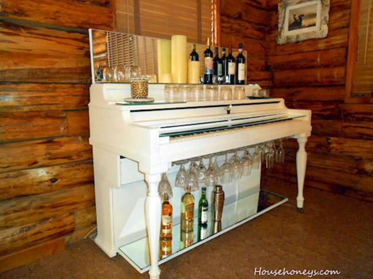 Как сделать барную стойку из старых и ненужных вещей