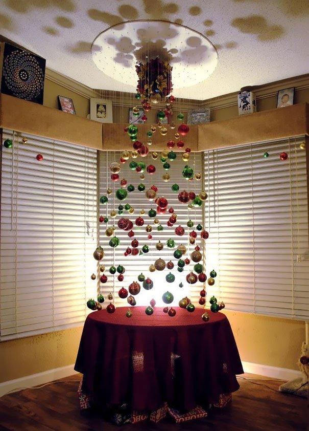 Креативные новогодние елки своими руками